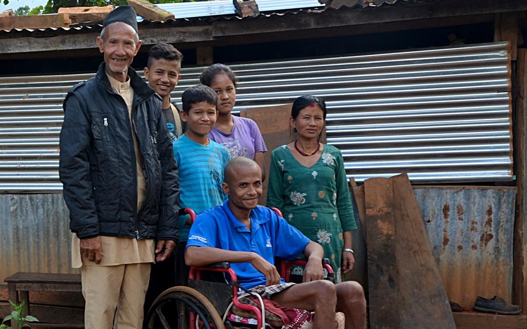 Wiederaufbau nach dem Erdbeben: Ein Haus für eine besonders benachteiligte Familie!