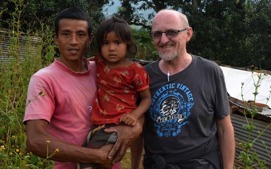 Begegnung mit Aasna – Wie Gründungsmitglied Rudolf Doppelbauer sein Patenkind fand