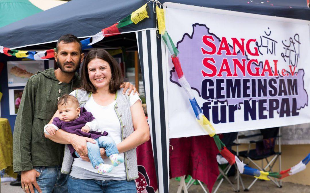Sang Sangai e. V. präsent beim Marktfest in Berchtesgaden