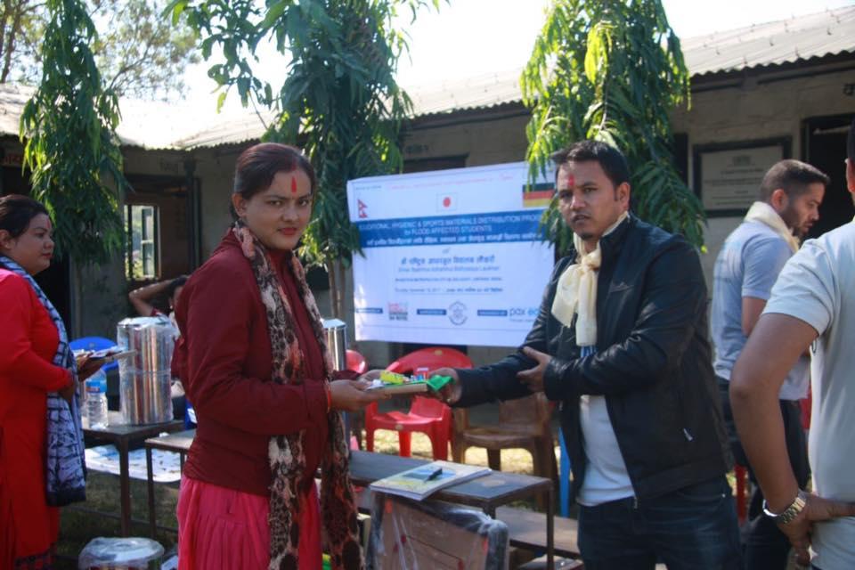 Hilfe für die Überschwemmungsopfer im Süden Nepals