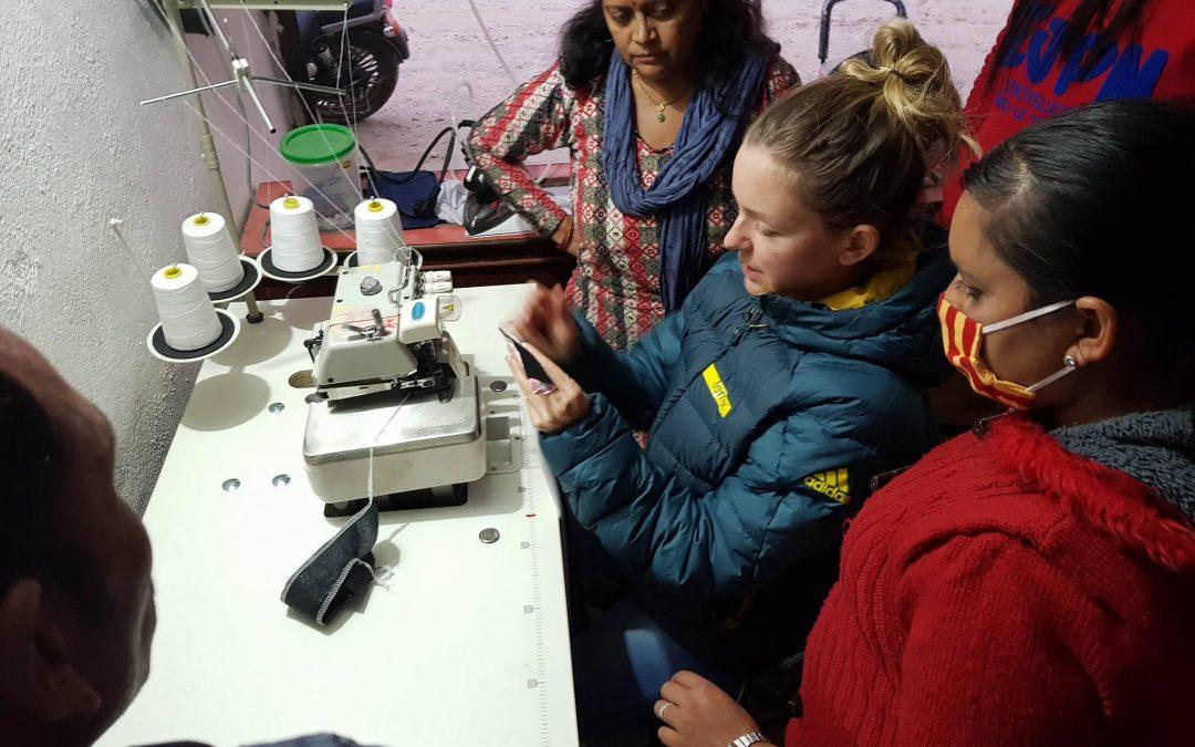 """Business als Chance – wie nepalesische Näherinnen mit """"BergZeig"""" ins Geschäft kommen"""