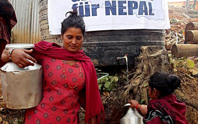 Wasser für Jeevanpur – Sang Sangai versorgt Dorf mit sauberem Trinkwasser