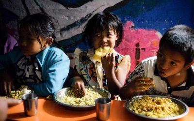 Sang Sangai-Weihnachtsaktion 2018 – Nahrhafte Mahlzeiten für arme Kinder