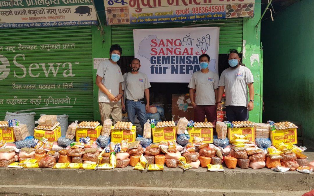 Sang Sangai Corona-Hilfen: Unterstützung von besonders betroffenen Familien